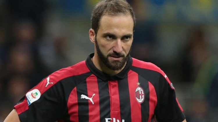 Hilangnya Hasrat Dan Minat Gonzalo HIguain Bermain AC Milan