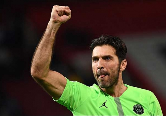 PSG Menang, Buffon Raih Clean Sheet Ke-50 Liga Champions
