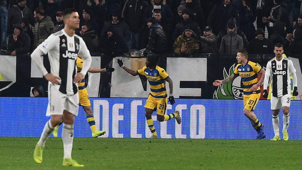 Dua Gol Ronaldo Gagal Menangkan Juventus