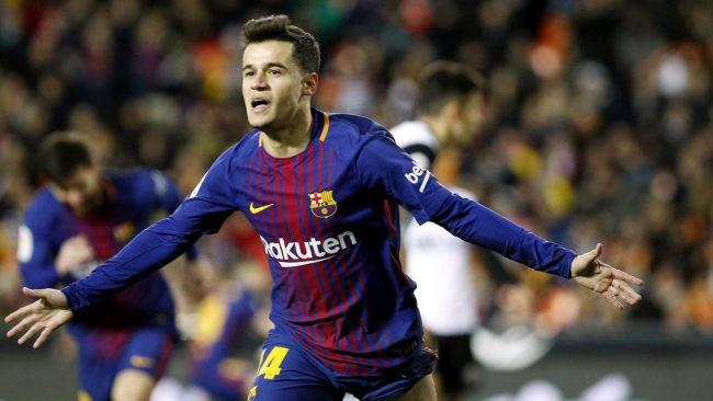 Penyerang asal Barcelona, Philippe Coutinho berusaha memaksimalkan kesempatan untuk bisa tampil dengan baik saat Barcelona melakukan aksi kandang melawan Lyon