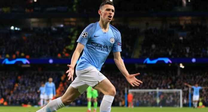 Sang Wonderkid Club Papan Atas Manchester City Dikabarkan Akan Selalu Mengigat Golnya Ke Gawang Club Tottenham Hotspur
