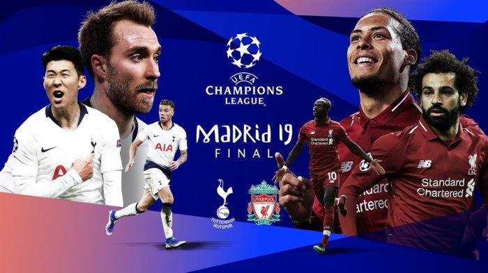 TOTTENHAM VS LIVERPOOL DI FINAL LIGA CHAMPIONS
