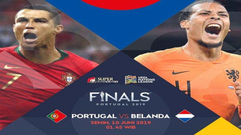 PORTUGAL VS BELANDA DI FINAL LIGA BANGSA