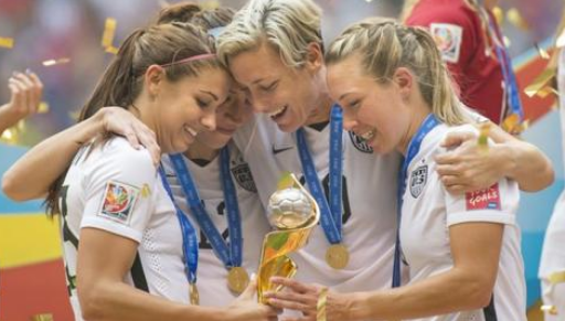 Resmi, Timnas Sepakbola Wanita Amerika Serikat Juara Piala Dunia 2019