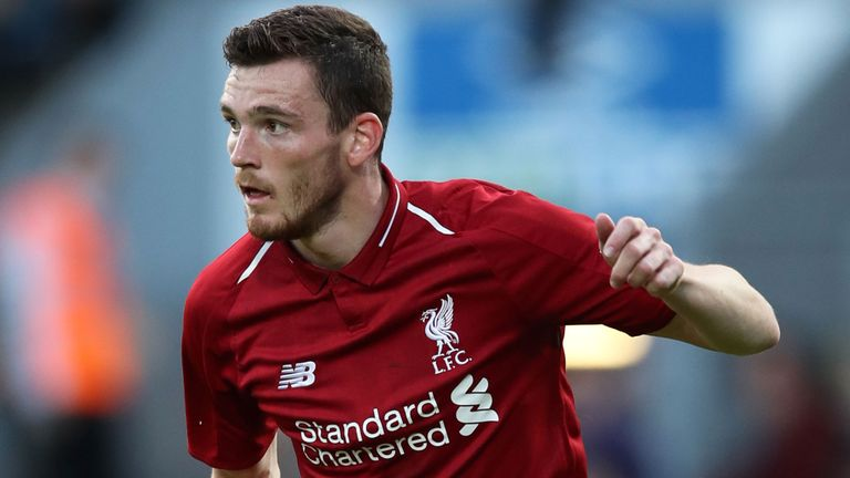 Andy Robertson Ungkap Alasan Perpanjang Kontrak di Liverpool