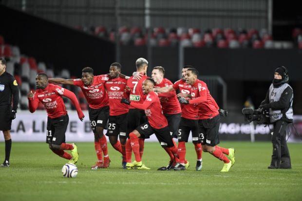Guingamp Kandaskan Asa Monaco Ke Final Coupe de la Ligue
