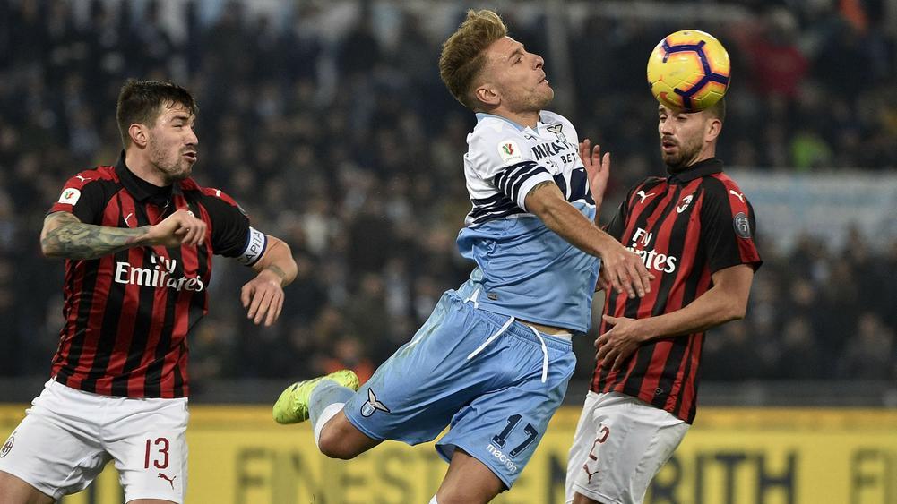 Laga Lazio Lawan AC Milan Berakhir Tanpa Gol