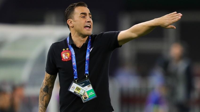 Cannavaro berhenti setelah dua duel sebagai pelatih nasional Cina