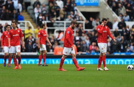 Cardiff City terdegradasi dari Liga Premier setelah satu musim